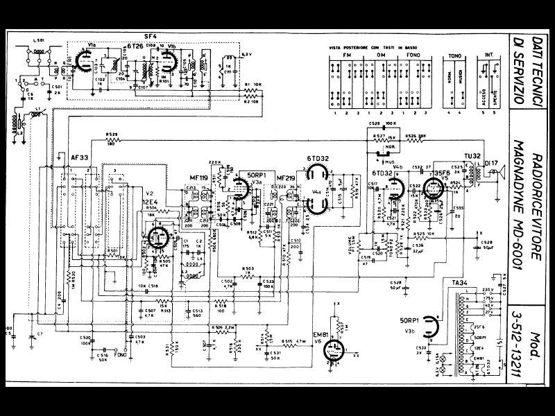 Schemi Elettrici Radio A Valvole : Kennedy k una comune radio… alquanto rara